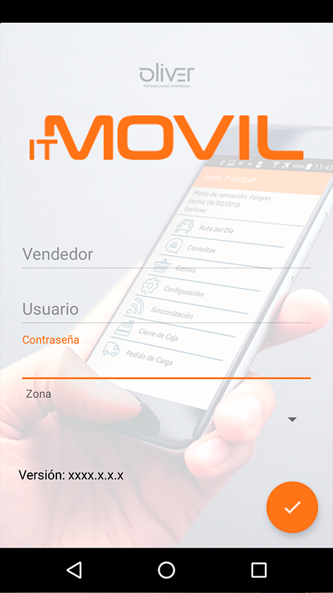 Vista de IT MOVIL